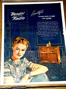 Bendix Radio  Advertisement