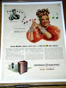 General Electric F M Radio  Advertisement