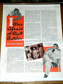 Clark Gable - I Was Afraid of Rhett Butler  Advertisement and Interview