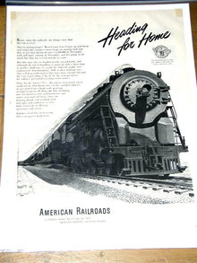 American Railroads  Advertisement