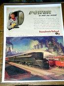Pennsylvania Railroad  Advertisement