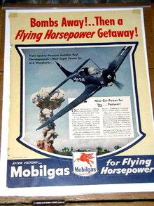 Mobilgas  Advertisement