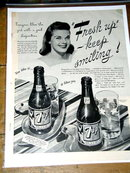 Seven Up Soda  Advertisement