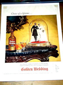 Golden Wedding  Blended Whiskey Advertisement