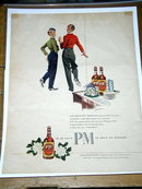 PM Blended Whiskey   Advertisement