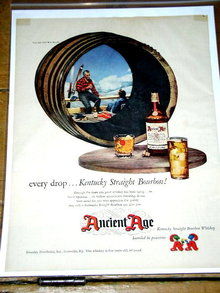 Ancient Age Whiskey   Advertisement