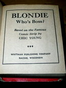 Blondie & Who's Boss - Better Little Book