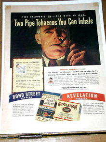Philip Morris Tobacco  Advertisement