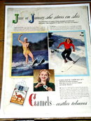 Camels Cigarettes  Advertisement