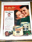 Philip Morris Pipe Tobacco  Advertisement