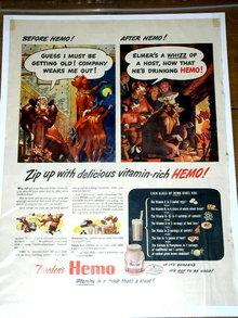 Borden's Hemo Milk Advertisement
