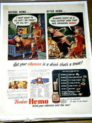 Borden's Hemo Milk Advertisement