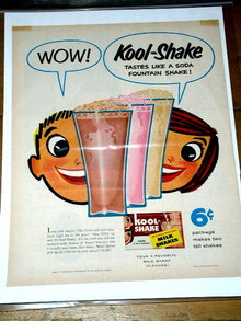 Kool-Shake Milk Advertisement