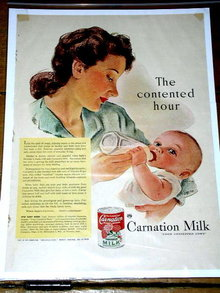 Carnation Milk Advertisement