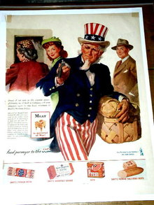 Swift's Meat Products  Advertisement