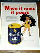 Morton's Salt  Advertisement