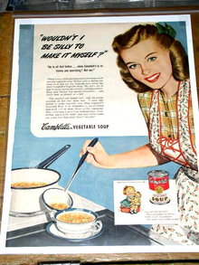 Campbell's Vegetable Soup  Advertisement