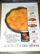 Del Monte Peaches  Advertisement