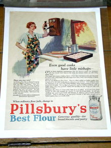 Pillsbury's Best Flour  Advertisement