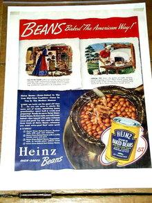 Heinz Baked Beans  Advertisement