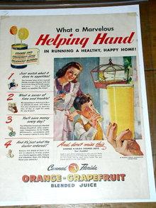 Florida Citrus Commission  Advertisement