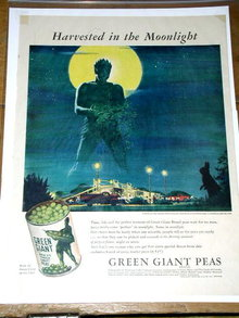 Green Giant Peas  Advertisement
