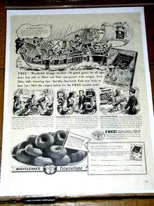 Mayflower Downflake Donuts  Advertisement