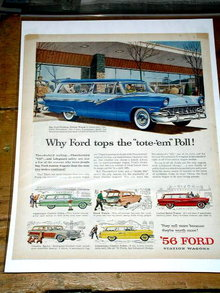 Ford Station Wagons  Advertisement