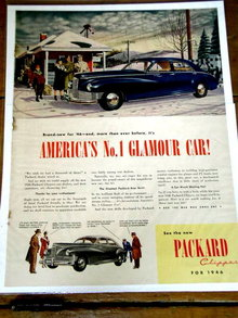 Packard Clipper  Advertisement