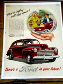 Ford  Advertisement - 1946