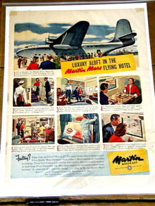 Martin Aircraft  Advertisement