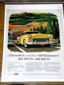 Chevrolet's Advertisement - 1955