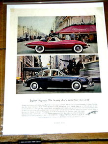 Jaguar XK-E Advertisement