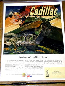 Cadillac Wartime Production Advertisement