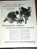 Listerine Toothpaste Advertisement
