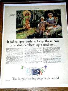 P & G  Soap  Advertisement