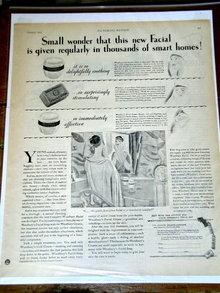 Woodbury Facial Products  Advertisement