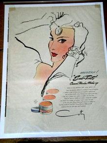 Coty Powder Make-Up Advertisement