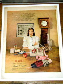 Du Barry Beauty Preparations  Advertisement