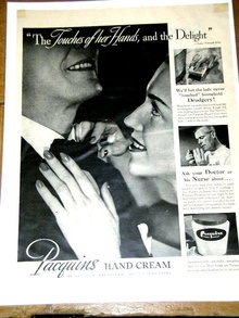 Pacquins Hand Cream  Advertisement