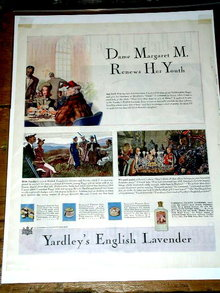 Yardley's English Lavender Advertisement