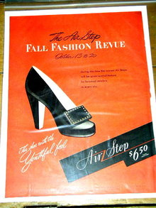 Air Step Shoes  Advertisement