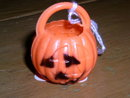 Halloween Jack O Lantern Candy Container