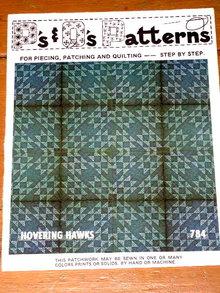 Hovering Hawks Quilt Pattern  -  PTB
