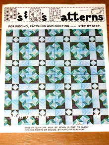 Basket of Scraps Quilt Pattern  -  PTB