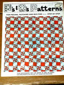 Clay's Choice Quilt Pattern  -  PTB