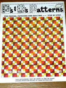 World's Fair Quilt Pattern  -  PTB