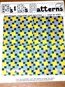 The Pinwheel Quilt Pattern  -  PTB