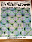 Old Maid's Puzzle Quilt Pattern  -  PTB