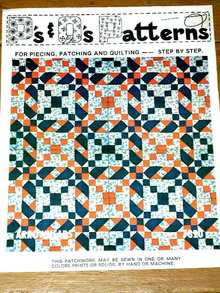 Arrowheads Quilt Pattern  -  PTB